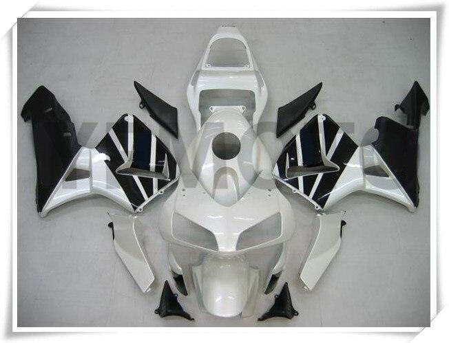 אופנוע לבן & שחור הזרקת יצוק יריד KIT - אופנוע אביזרים וחלקים