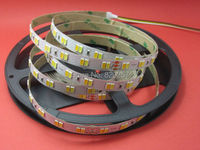 free shipping 5m/reel 24V Samsung 5630 smd led CCT color temperature adjustable and dimmable strip 112leds/m
