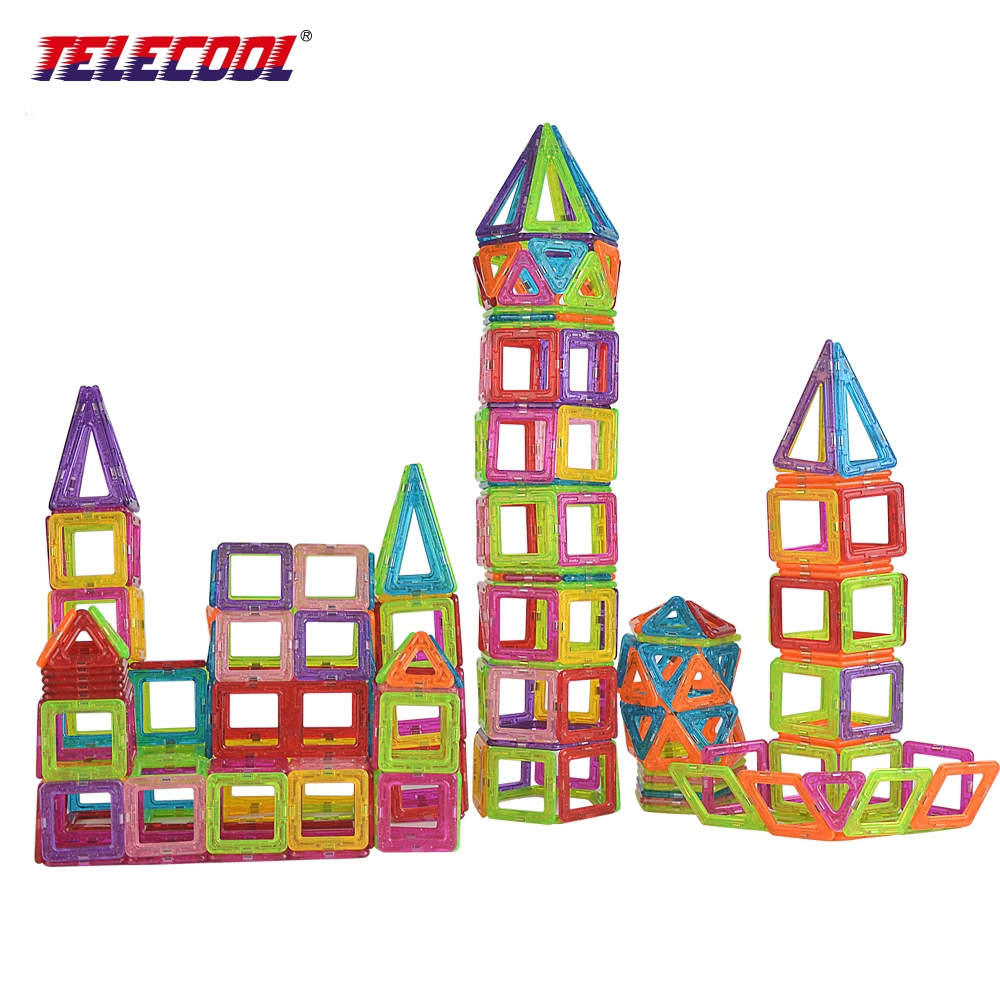 TELECOOL Magnetic Building Blocks Toys Mini 80/100 PCS DIY Set Inspire Kids Educational Construction Designer Toy telecool magnetic building blocks toys mini 80 100 pcs diy set inspire kids educational construction designer toy
