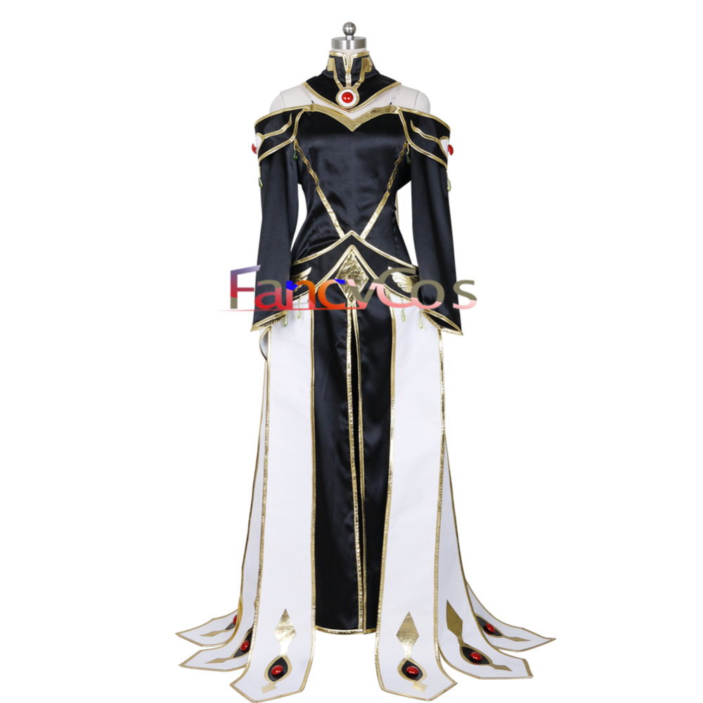 Halloween  Code Geass: Lelouch of the Rebellion C.C. Dress Cosplay Costumes Adult Costume Movie High Quality Custom Made