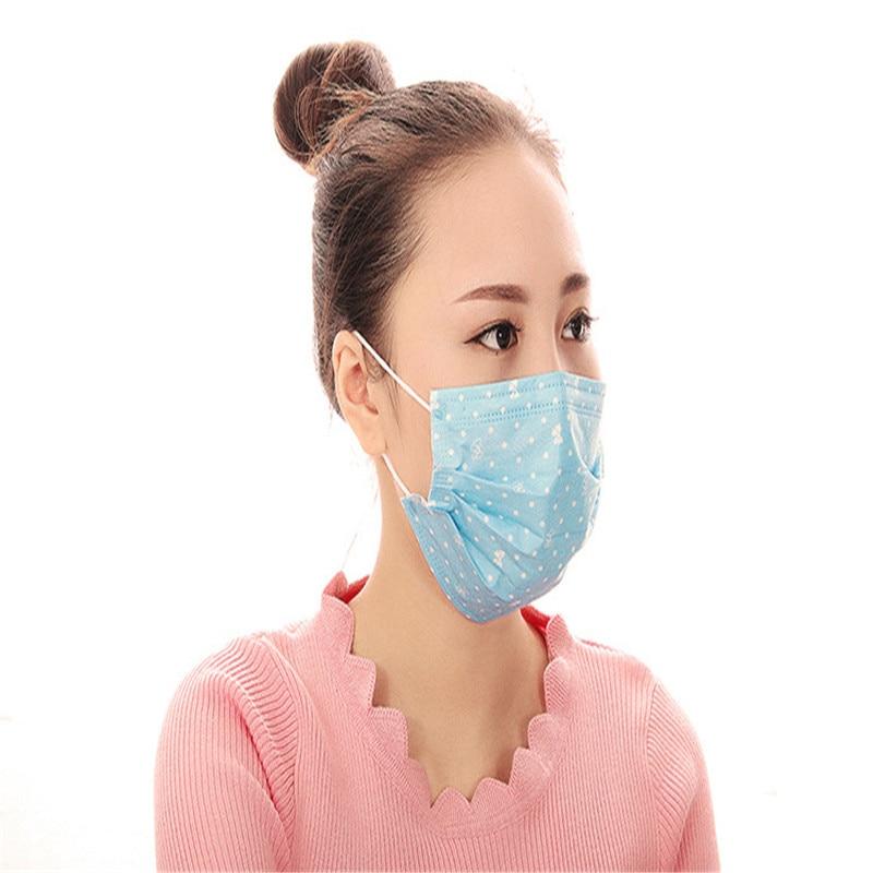 Masken ZuverläSsig 100 Pcs/taschen Einweg Vier-schicht Schutz Blau Wenig Staubdicht Aktivkohle Staub Und Antibakterielle Masken Hell Und Durchscheinend Im Aussehen