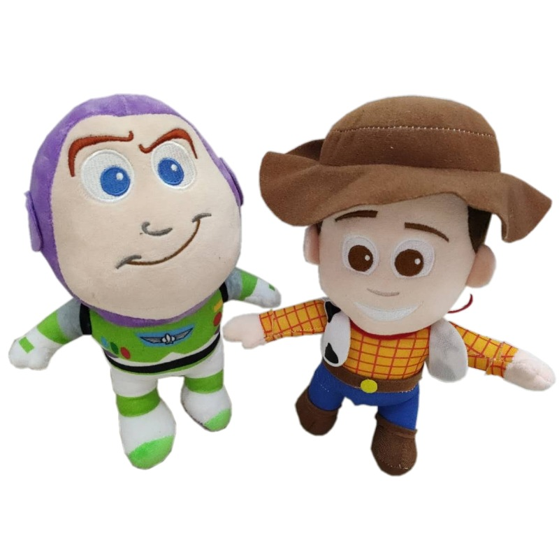 1pcs 20cm Toy Story 4  Woody & Buzz Lightyear & Jessie Plush Toy Doll Forky Soft Stuffed Toys For Children Kids Christmas Gifts