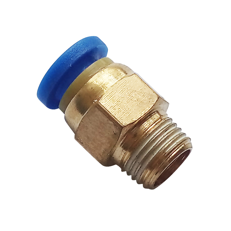 M5 1/8'' 1/4'' 3/8'' 1/2'' Male-4 6 8 10 12mm Straight Push in Fitting Pneumatic Male Connector ro fitting 1 4 push in 1 2 npt