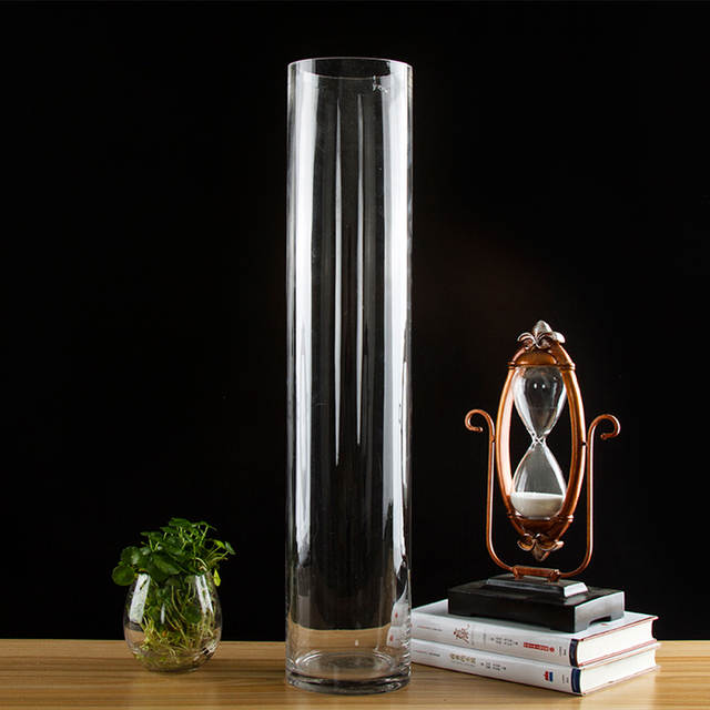 Online Shop European Style Transparent Clear Tabletop Tall Glass
