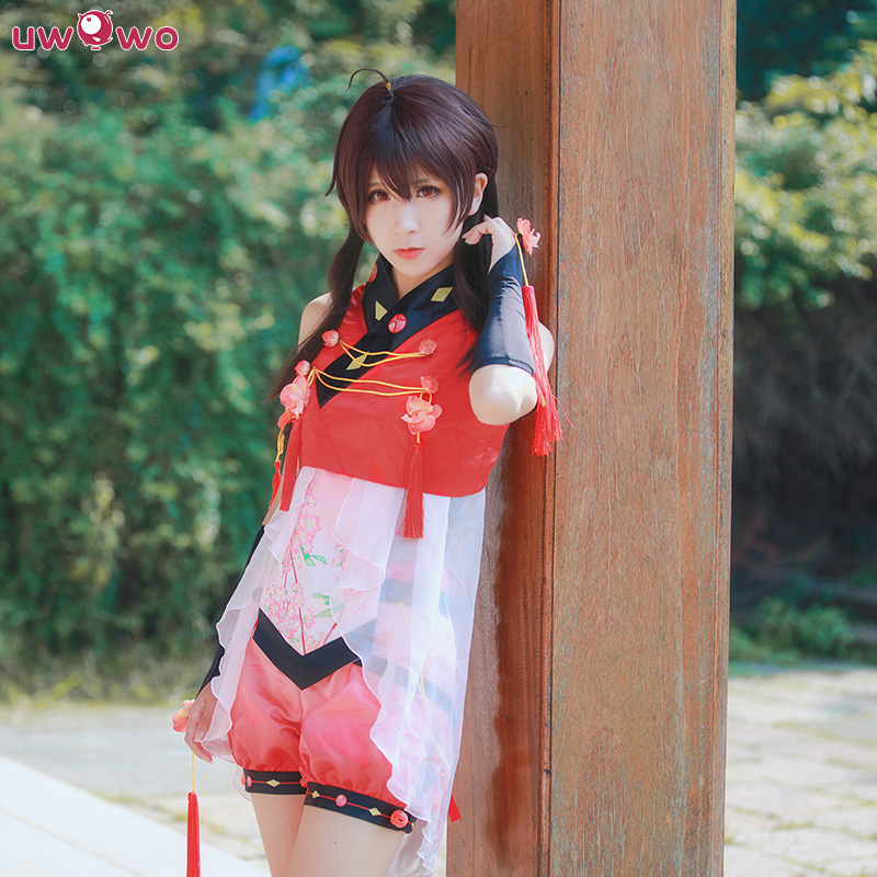 UWOWO Yuezheng Ling Cosplay VOCALOID CHINA PROJECT  White Costume VOCALOID Cosplay Feminino Chinese Style Yuezheng Ling Costumes