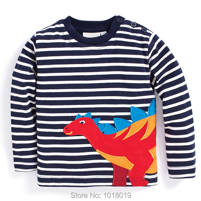 Boys t shirt New 2018 Brand Quality 100 Cotton Baby Boy Clothes Long Sleeve Children Clothing