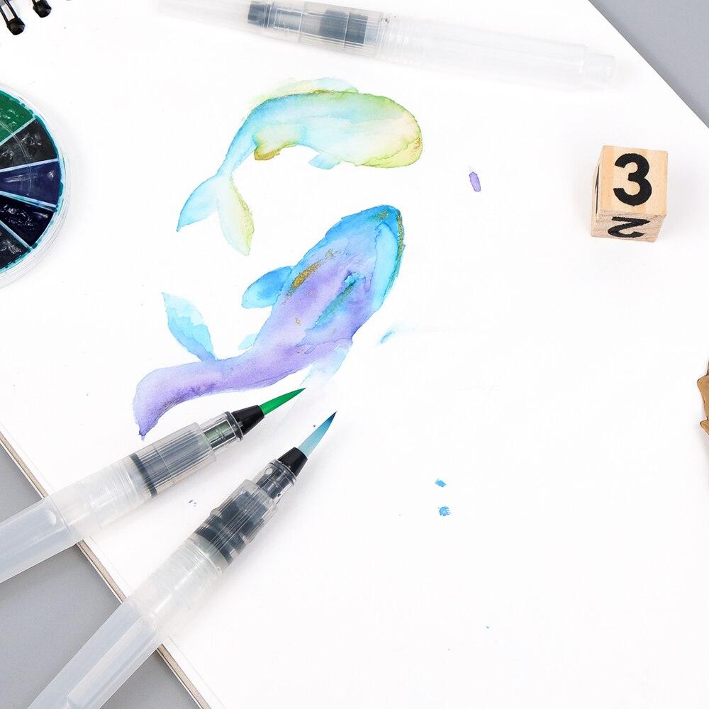 Watercolor Brush Sets 4