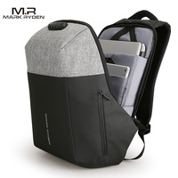 Markryden New Anti Thief Design USB Recharging Laptop Backpack TSA Customs Lock Design Backpack Men Fashion