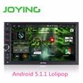 Joying В Тире Универсальный Quad Core 2 Дин Android 5.1.1 Аудио Автомобильные cd GPS 3 Г Wi-Fi Bluetooth Радио (нет) CD Player Automotive