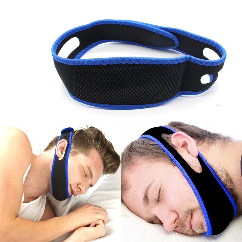 Anti Snore Chin Strap Stop Snoring Snore Belt Sleep Apnea Chin Support Straps For Aid Tools Stop Bruxism Anti-Ronquidos