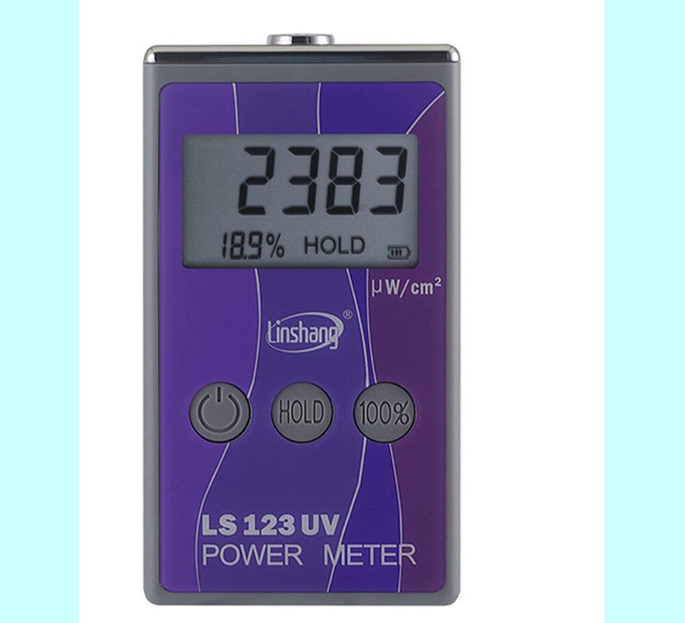 Portable Mesureur De Puissance UV Solaire Power Meter rayonnement Ultraviolet test intensité avec rejet UV UV blocage taux LS123