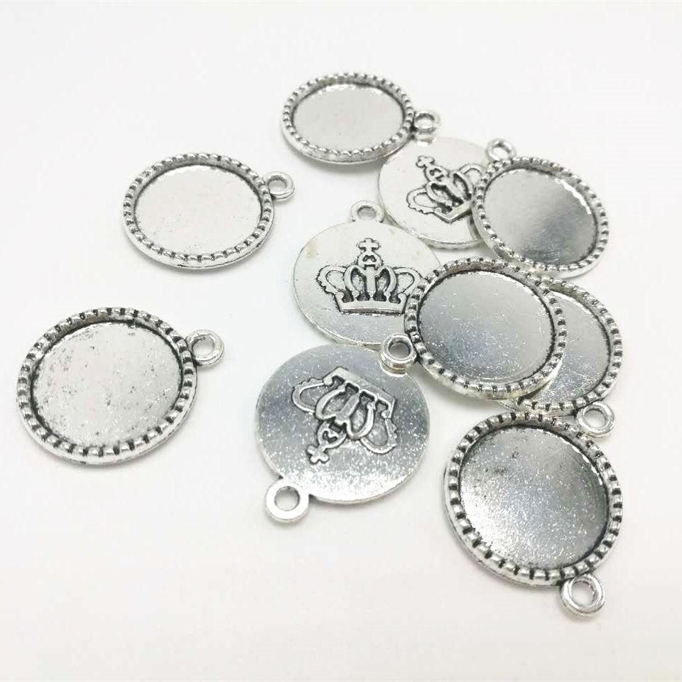 Lot de 30 Tibetan Silver Style Vintage Charm Clé alice au pays des merveilles 16 mm x 6 mm