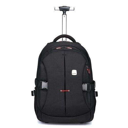 Мужские Оксфордские дорожные багажные сумки на колесиках, дорожные сумки на колесиках, женские рюкзаки на колесиках, деловые чемоданы на колесиках - Цвет: 2