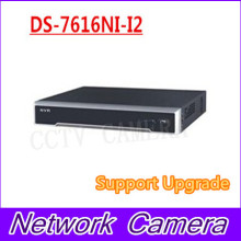 Free shipping DS-7616NI-I2 English version 16ch NVR with 2SATA, no POE ports, HDMI VGA plug & play NVR 16ch VCA H.265