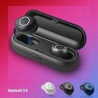 5.0 Fones de Ouvido Bluetooth Estéreo Sem Fio Fones de Ouvido Esporte fone de ouvido Com Cancelamento de Ruído Fones De Ouvido fones de Ouvido Handfree Para Telefone Celular Xiaomi Huawei|Fones de ouvido| |  -