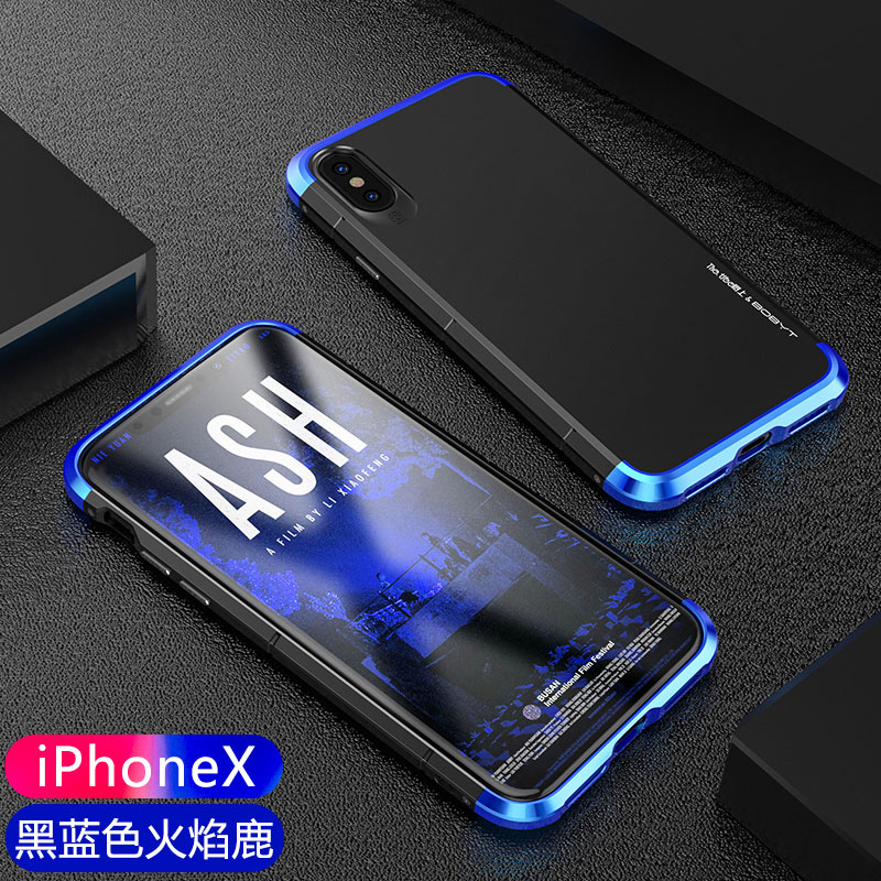 Ginmic for Apple iphone X Case 10 Ultra Thin Luxury Frosted Shockproof Cover for iphoneX Slim Armor Metal Hard Plastic PC Shell