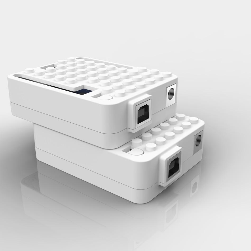 Carcasa Protectora para Arduino UNO R3 Transparente Geekworm Carcasa ABS UNO R3