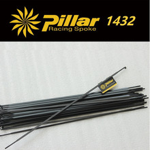 Pillar 1432 Black Spoke Stainless Steel PSR Aero J-hook spoke or straight pull for Carbon road bike or mtb Wheel