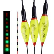 3pcs/lot Luminous Float Night Fishing Light Led Floats For Stopper Bobber Buoy Equipment Without Battery
