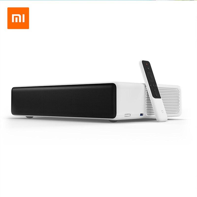 Оригинальный Xiaomi Mijia лазерная проекция ТВ 150 дюймов 1080 Full HD 4 К Bluetooth 4,0 Wi-Fi 2,4/5 ГГц английский Интерфейс DOLBY DTS 3D