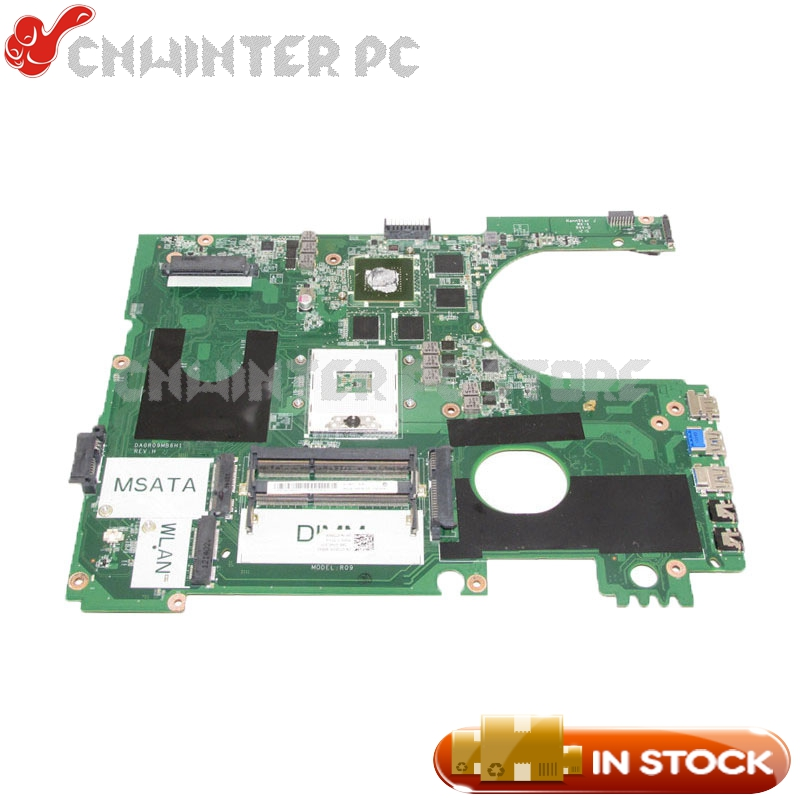 NOKOTION PC Motherboard For Dell Inspiron 17R 7720 Main Board DA0R09MB6H1 CN-072P0M 072P0M DDR3 GT650M Video card сумка brilliant 2015 mj88 20150324myj1880