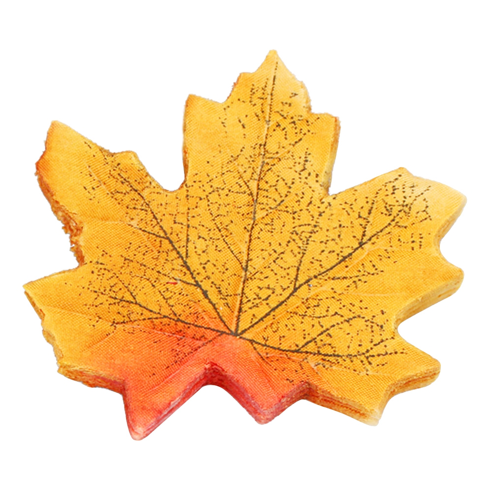 Artificial Fall Silk Maple Leaves Wedding Favor Autumn Maple Leaf ...