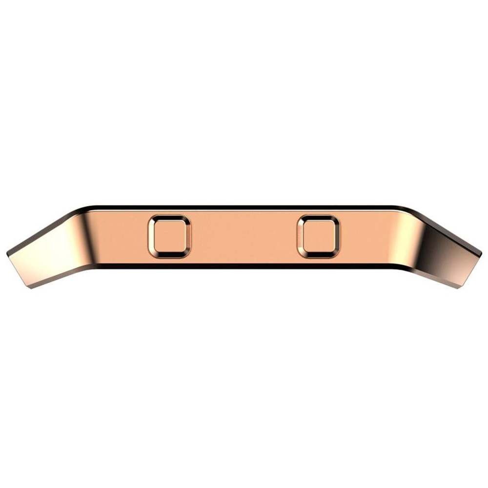 17 Wearable Device Luxury Fashion Stainless Steel Holder Shell Metal Frame For Fitbit Blaze Smart Watch Wristband Accessory 5