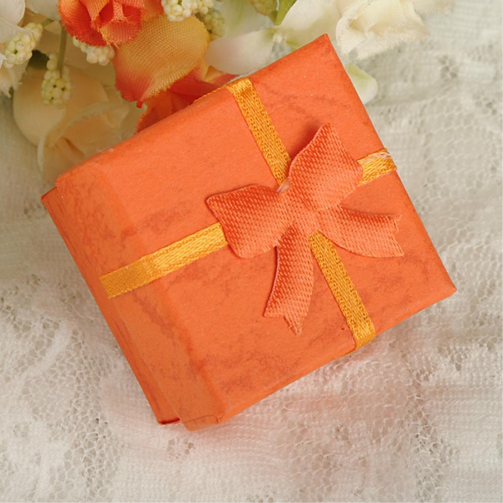 Cheap 10COLORS 4*4*3cm EXQUISITE GIFT PRESENT PACKAGE BOXES CASE FOR BANGLE JEWELRY WATCH CARTON BOX