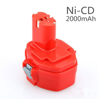 14.4V 2000mAh For Makita Rechargeable Power Tools Battery for MAKITA PA14 1420 1422 1433 1434 1435F JR140D 192699 A