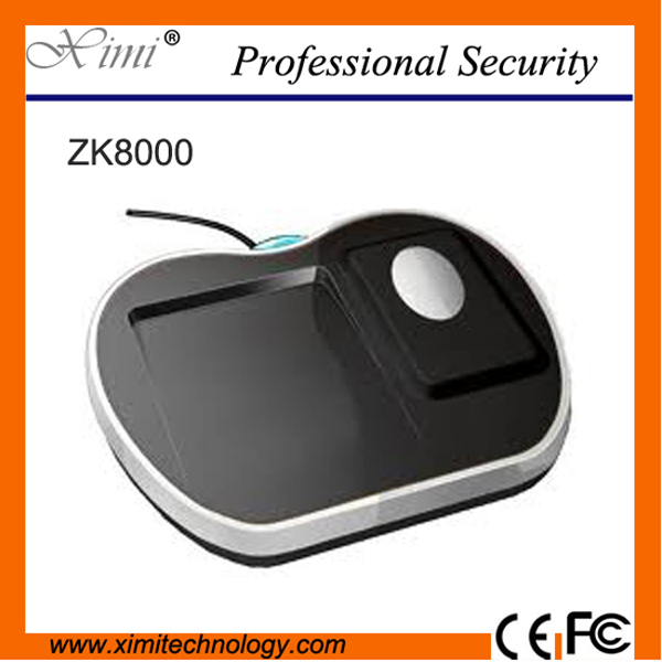 ZK ZK8000/ZK8500 fingerprint sensor support ZK finger SDK USB fingerprint reader attendance device or access control device biometric fingerprint access controller tcp ip fingerprint door access control reader