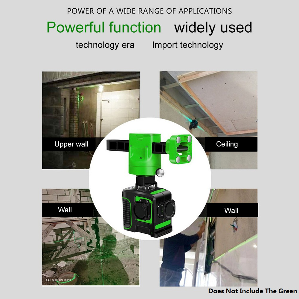 12 8 Lines 3D Red Laser Levels Self Leveling 360 Horizontal and Vertical Cross Super Powerful Red Line Laser Beam Line Laser in Laser Levels from Tools