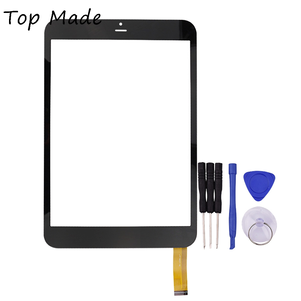 цена на 7.85 inch Touch Screen Frame for RoverPad Sky 7.85 3G MT70837-V0 Black Tablet PC Digitizer Glass Panel with Free Repair Tools