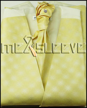 ivory new  Bridal Tuxedos man's polyester waistcoat 4pcs