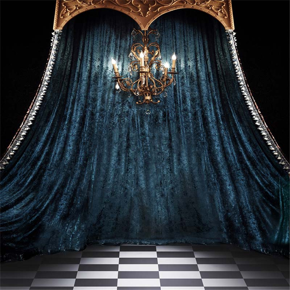 studio curtain backdrop backgrounds backdrops chandelier interior background indoor candles drape booth printed wallpapers steel floor tiled floors digital videography