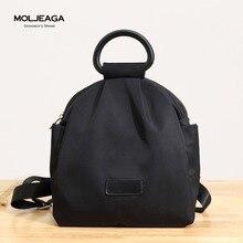 Moljeaga Многофункциональный женские сумки на плечо в простом стиле модные летние водонепроницаемый нейлон Женщины сумка женская сумка