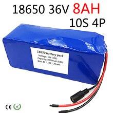 36 В литиевая батарея 8ah 8000 мАч 10 s 4 P 18650 Перезаряжаемые аккумулятор, изменение велосипеды, электрический автомобиль 36 В 42 В защиты с PCB
