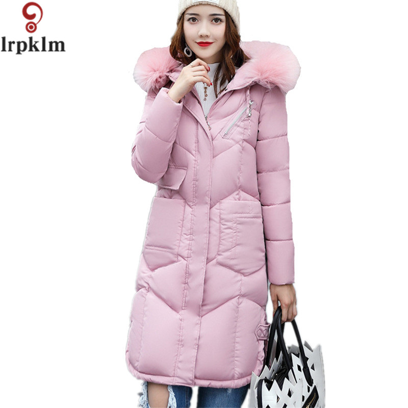 Women Winter Parka Wadded Jacket Long Thicker Cotton Padded Coat Plus Size XXXL Winter Warm Parka Fashion Outerwear LZ225 2016 new long winter jacket men cotton padded jackets mens winter coat men plus size xxxl