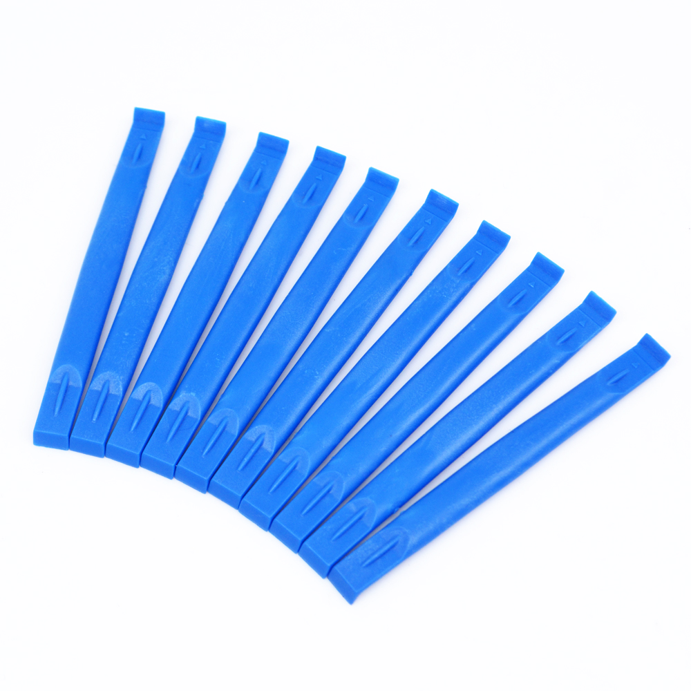 50/100pcs/set Mobile Phone Repair Tools Kit Plastic Spudger Blue Stick For iPhone iPad Samsung Cell Phone Hand Tools