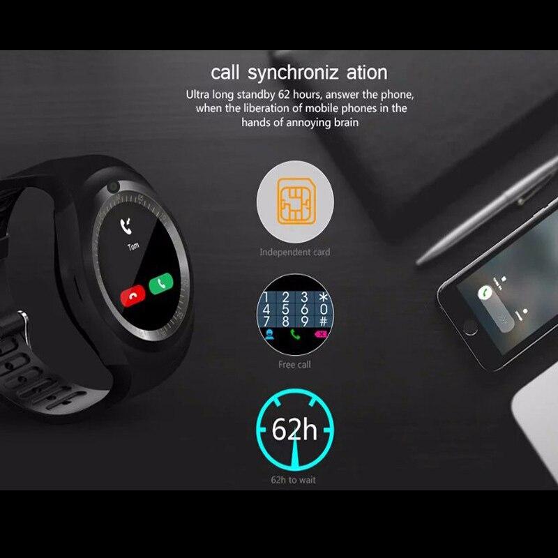 KESHUYOU Kamera Pametan sat Bluetooth 2G Muškarac smartwatch - Pametna elektronika - Foto 3