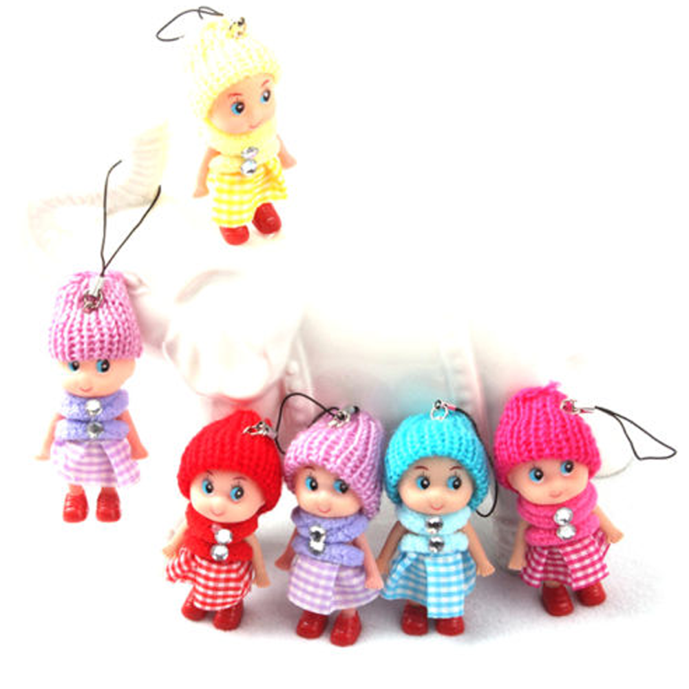 1PC Mini Ddung Doll Best Toy Gift for Girl Confused Doll Key Chain Phone Pendant Ornamen ...