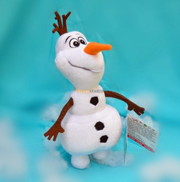 Fancytrader 2014 Top Selling 24\'\'60cm Jumbo Plush Frozen Olaf Snowman in Frozon Cartoon for Child Gift Free Shipping FT50024(1)