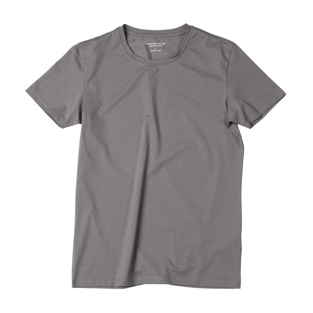 Men's Slim Fit T-Shirts  Solid Basic Skinny O-neck Cotton