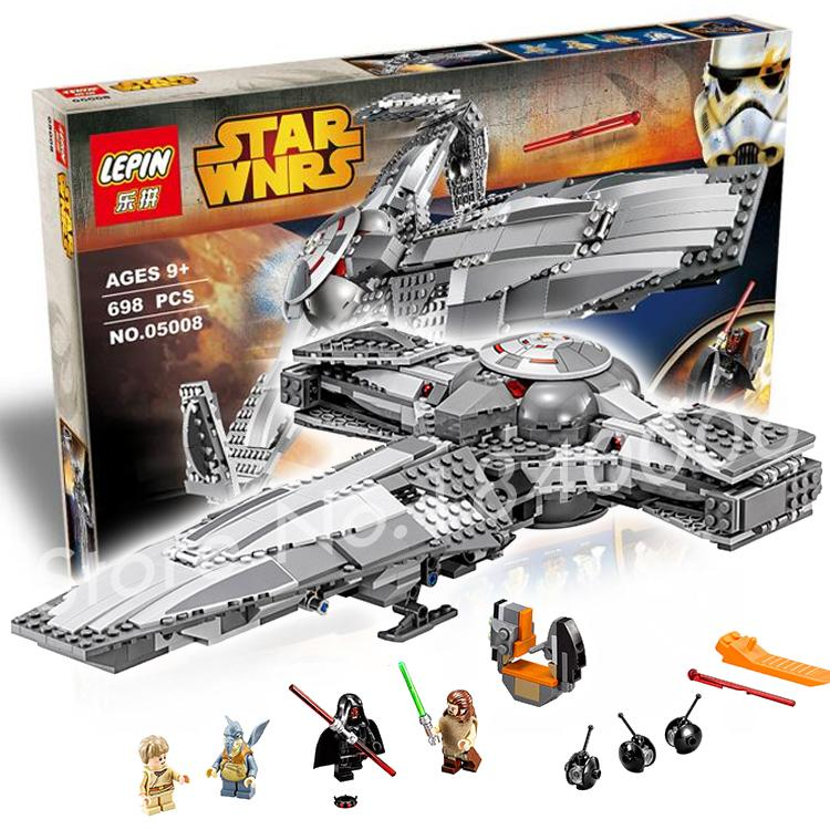 698pcs Bela 05008 New Star Wars Sith Infiltratortm Mannequin Constructing Blocks Units Minifigures Items Boys Bricks Suitable With Lego