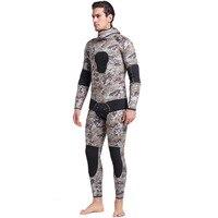 5 мм SCR двойка Подводное гидрокостюм для дайвинга для мужчин подводной охоты полосатая блузка плавание ming одежда костюм