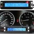 3 en 1 LED Electronic Car Auto Lámpara de Alarma Reloj termómetro Del Coche Medidor de Voltaje Voltímetro Monitor de Temperatura para Los Coches
