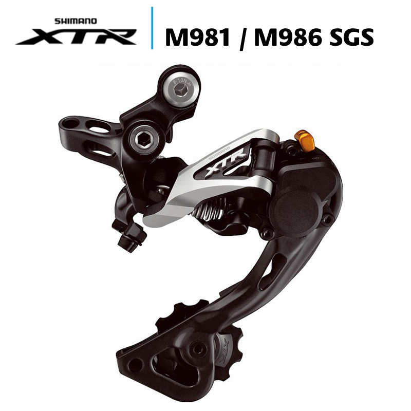 New Shimano XTR Rear Derailleur RD-M981 SGS 10 Speed