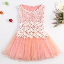 Lace Flowers Girls Dress