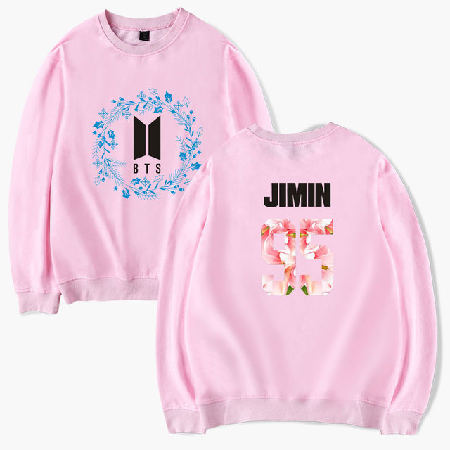 "BTS ""Floral"" Flower Sweater"
