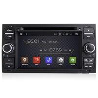 2 г Оперативная память Android 8,1 dvd плеер автомобиля для Ford Focus/Mondeo/Kuga/C MAX/Fiesta 2004 2005 2006 2007 радио gps навигации магнитофон