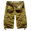 2015 new men's large size tooling shorts shorts summer influx of men and casual loose